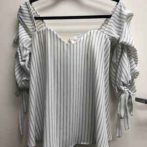Olivaceous Long Sleeve Blouse